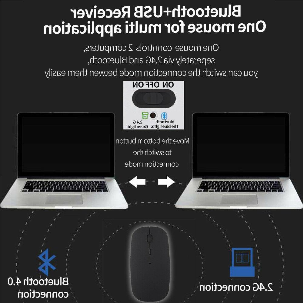 Bluetooth Mice PC Laptop Mac
