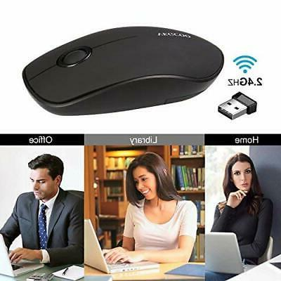 VEGCOO C3 Slim Silent Click Optical Mouse