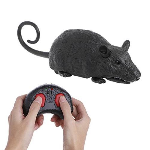 chone remote control mice toy flickering eyes wireless rat m