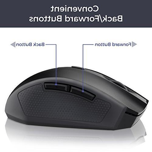Kroma Portable Mouse Mice USB Receiver, -