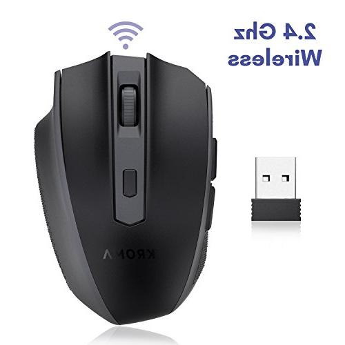 Kroma Portable Mouse Mice 3 Adjustable 6 for Notebook, PC, Computer, Macbook -