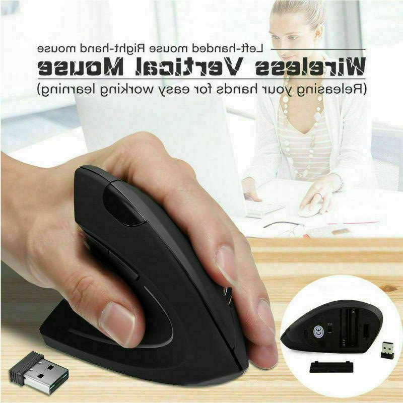 Vertical Optical 2.4GHz Mouse DPI for