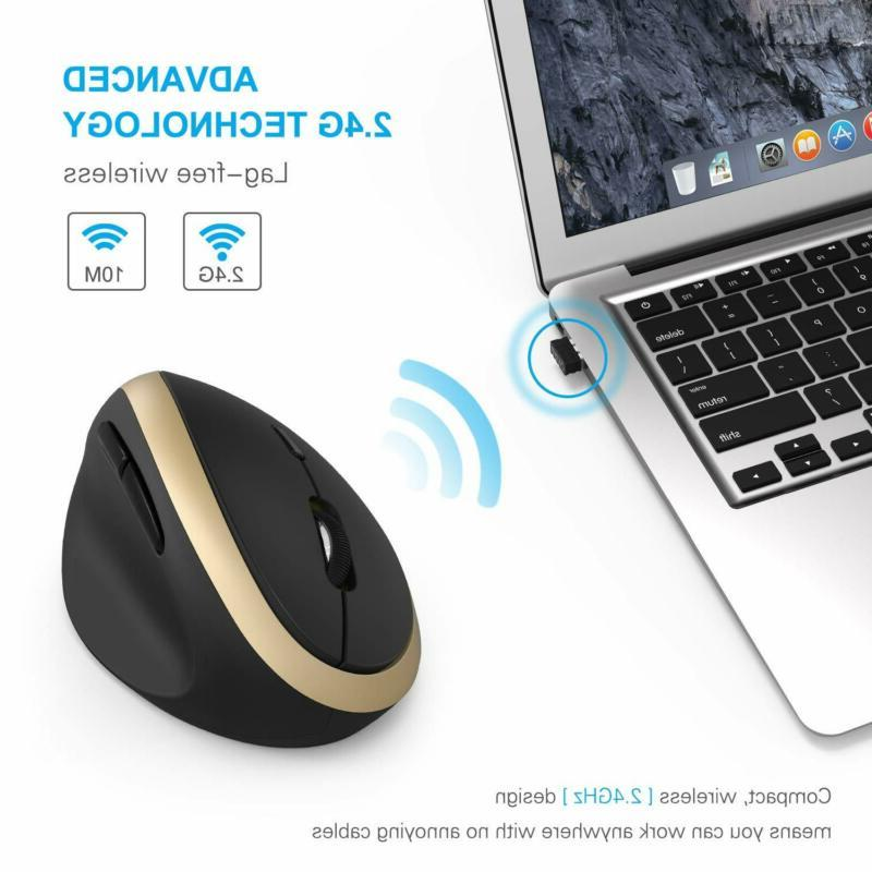 Ergonomic Wireless Vertical Jelly Comb High Precision