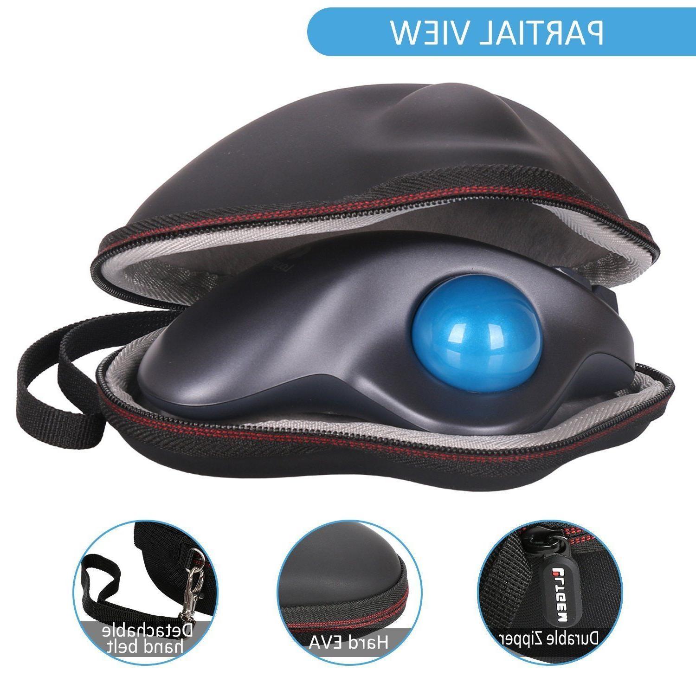 LTGEM EVA Hard Case For Logitech Wireless Trackball M570 Mou