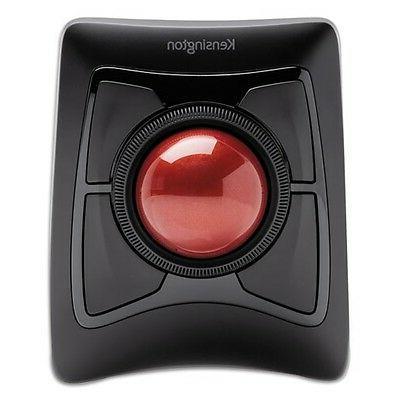 Kensington Mouse - Optical Black - USB - Trackball