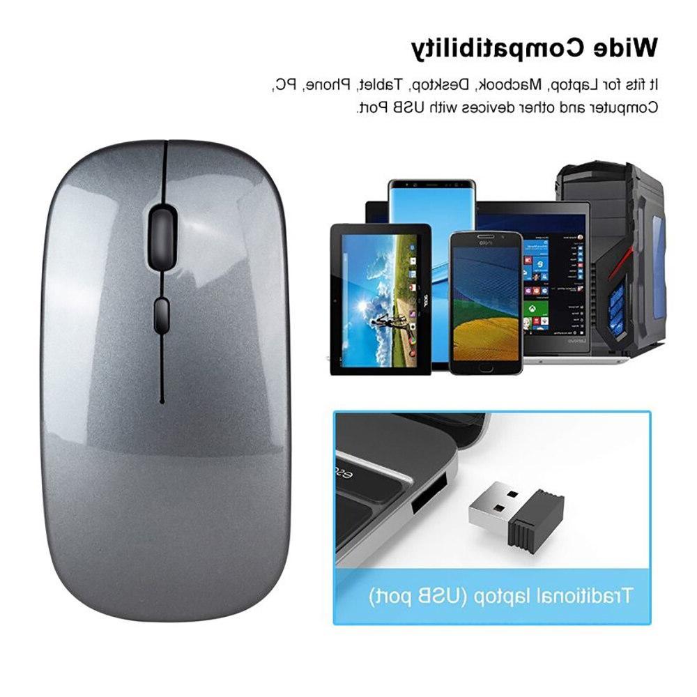 <font><b>VicTsing</b></font> <font><b>Wireless</b></font> <font><b>Mouse</b></font> Dual Mode 2.4G Bluetooth <font><b>Mouse</b></font> 1600DPI <font><b>Mice</b></font> Silent With USB Receiver For Laptop Computer