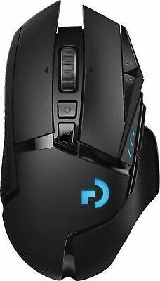Logitech - G502 Lightspeed Wireless Optical Gaming Mouse wit
