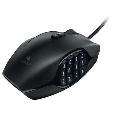 16cdd4fc814 Logitech G600 MMO Gaming Mouse, RGB Backlit, 20 Programmable