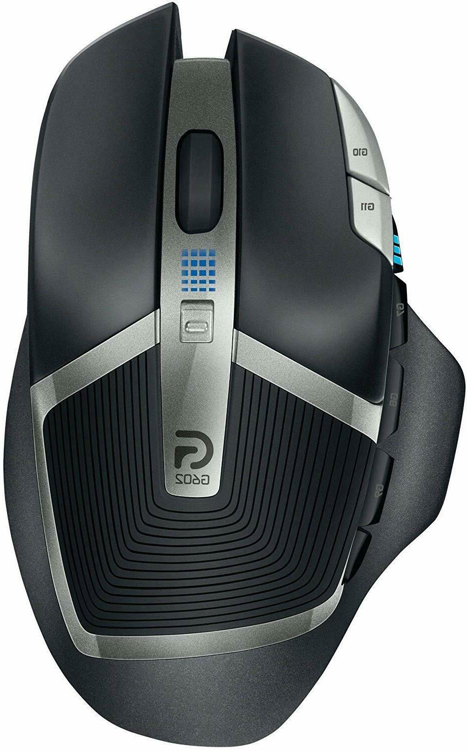 602 lag free wireless mouse 11 programmable
