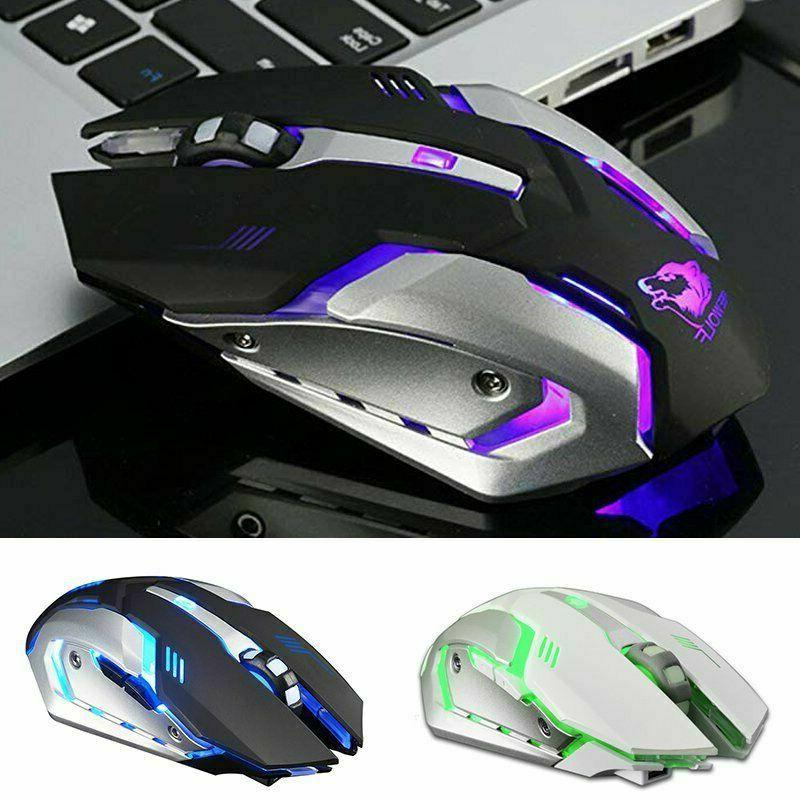 LED Wireless USB Optical X7 Mice