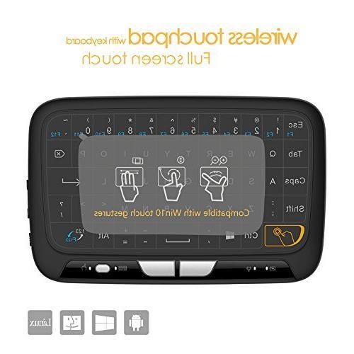 b778cf458e7 ECIBIC H18 2.4GHz Mini Wireless Keyboard with Whole