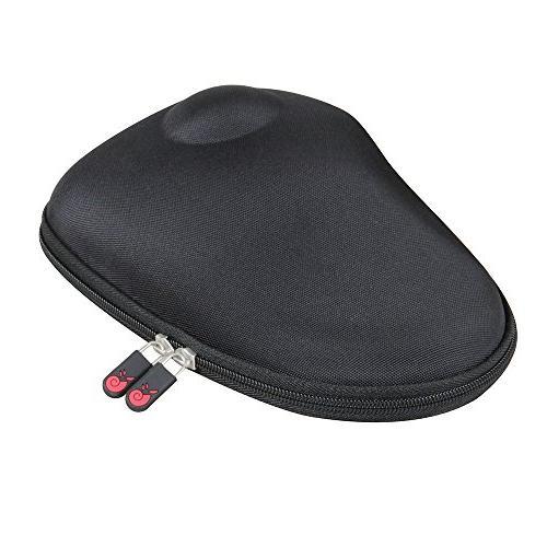 Hermitshell Hard Travel Black fits Wireless Extra Large Ergonomic Design