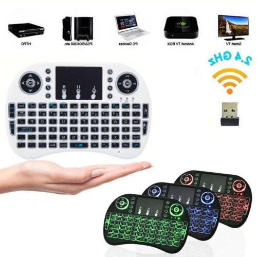 i8 Mini Keyboard Mouse w/ For Smart Pad PC