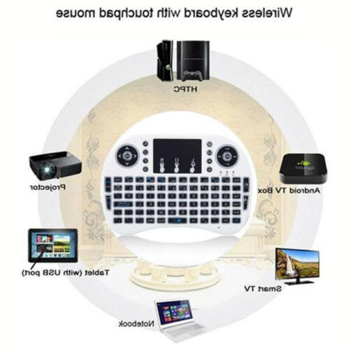 i8 Wireless Keyboard Mouse Touchpad Pad