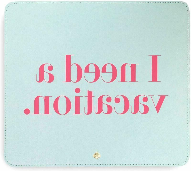 kate spade new york leatherette mouse pad