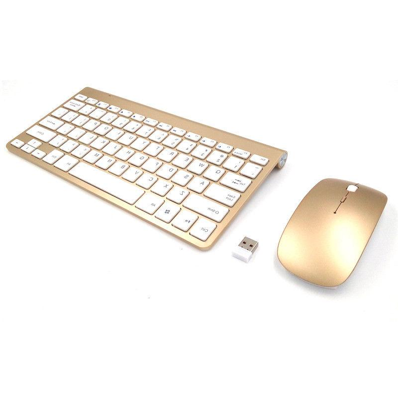 Keyboard Mouse 2 4ghz Wireless Waterproof And Combo Quiet Sr