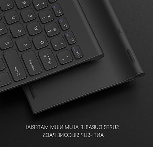 Keyboard Mouse, 2.4 G Ultra Rechargeable Wireless Desktop Computer