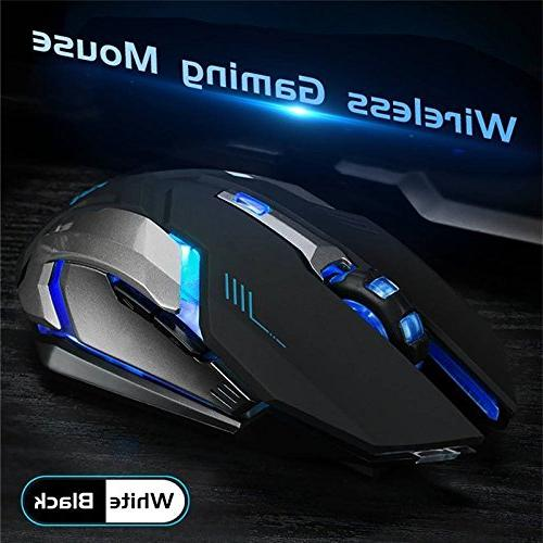 LED Optical Gaming Mouse High Resolution Notebook, PC, Laptop, MacBook Aoile