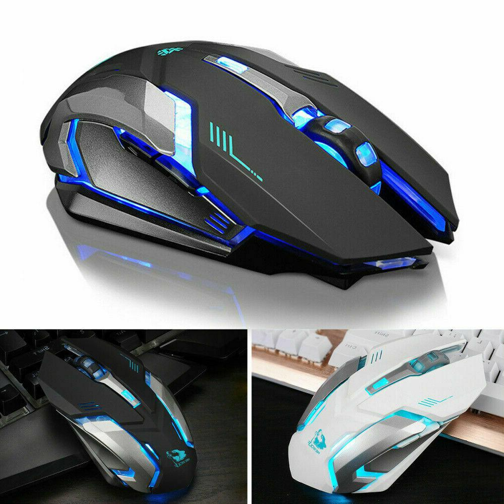 LED Rechargeable USB X7 Mice USA