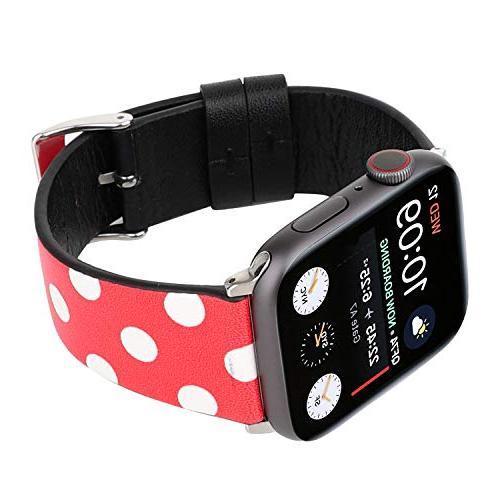 Lovely Watch Band Strap Cute Dressy Wristband Bracelet 44mm 42mm Apple Series 4/3/2/1
