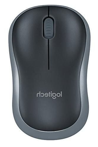 Logitech Mouse Optical Radio Frequency - - dpi - Scroll Wheel - Butto