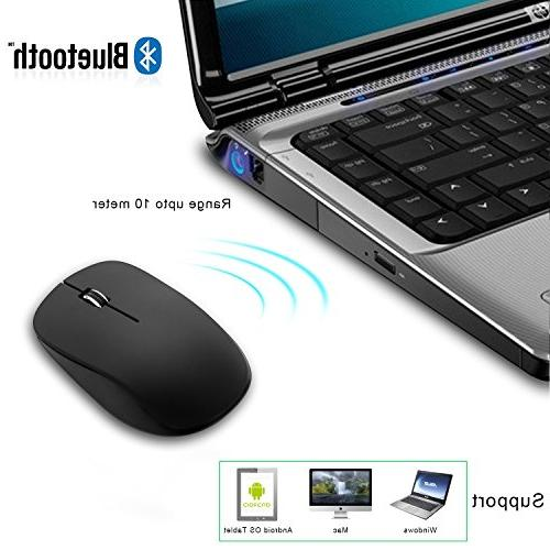 JETech Bluetooth Mouse for and with 6-Month Battery Life -