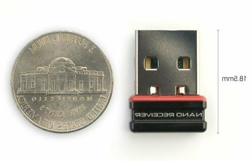 Logitech red Full Size Wireless