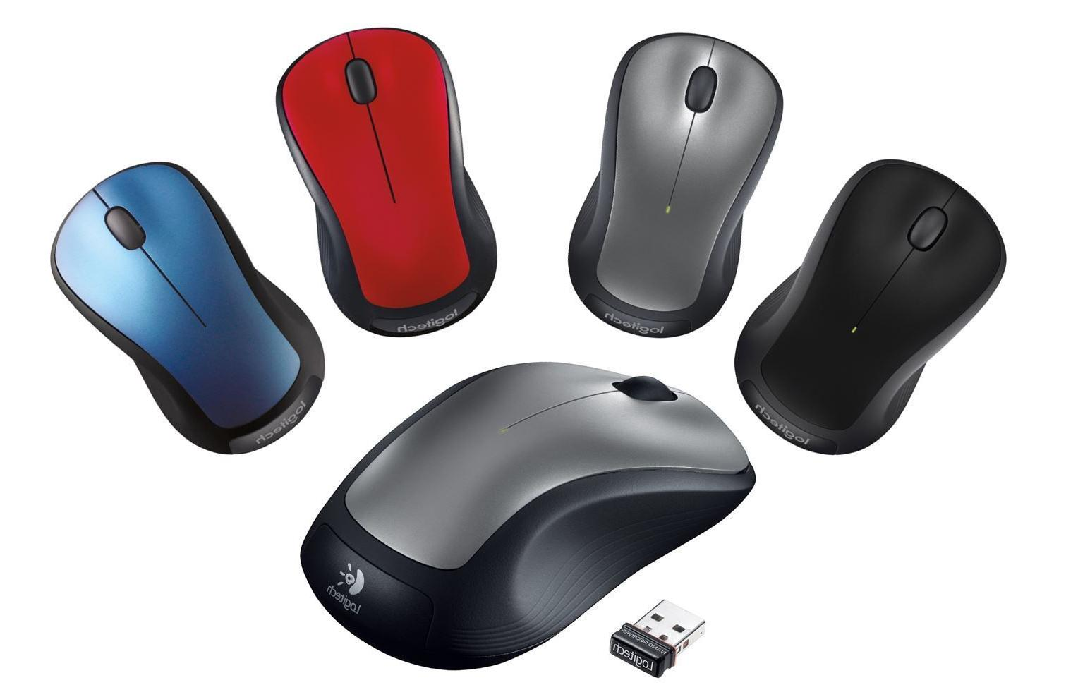 Logitech M310 Wireless Laser Mouse for PC&Mac - Multiple Col
