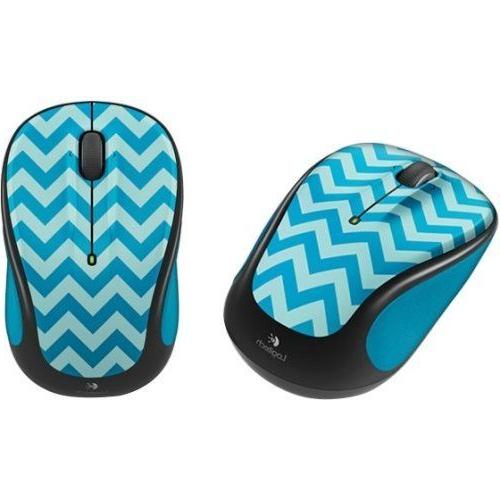 Logitech M317 Wireless Optical Mouse New Colors To