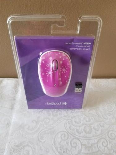 m325c wireless optical mouse purple fireworks brand