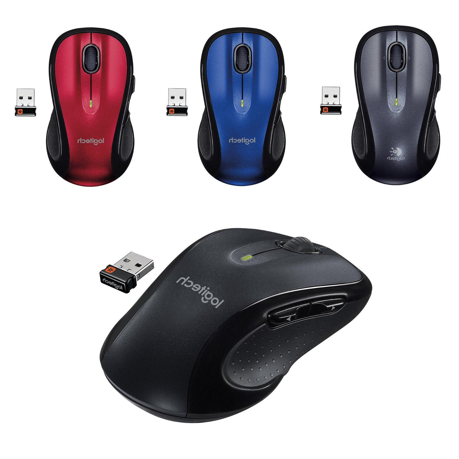 Logitech M510 Wireless Computer Mouse – Comfortable Shape