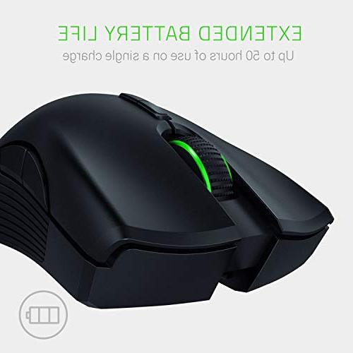 Razer Mamba RGB Mouse 16,000 DPI 5G Optical Sensor Wired/Wireless Extended 50