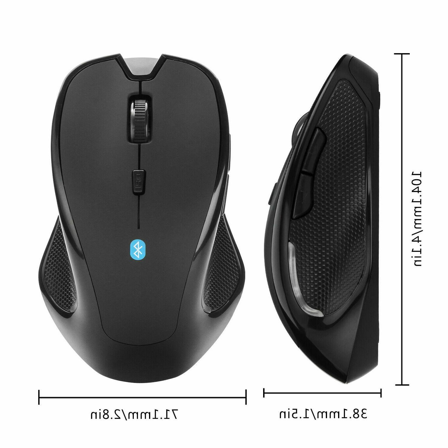 Mice Mouse Wireless Optical 2400 DPI Mac Android