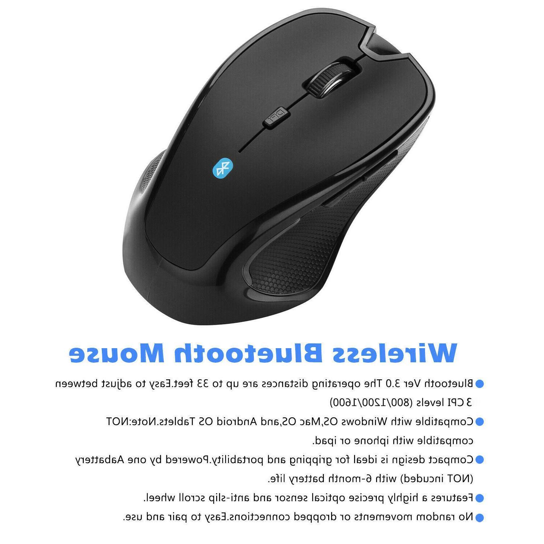 Mice Bluetooth Optical DPI Mac Macbook Android