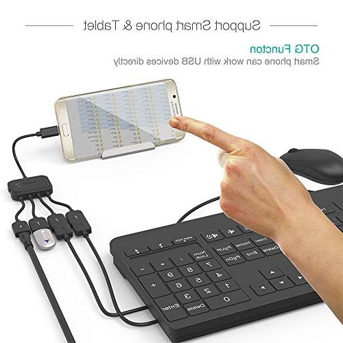 TUSITA Adaptor with Charging Cord Adapter for Fire TV 2 3 Zero Android Smart Phone Samsung HTC Google LG/Linux