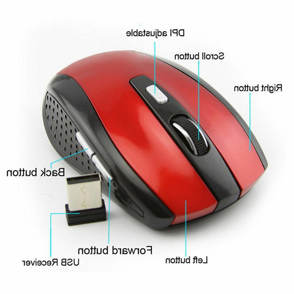 Mouse Optical For Laptop 2.4GHz