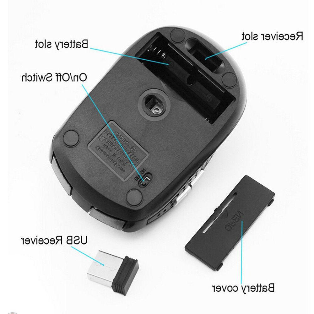 Mini Wireless Mouse For Laptop 2.4GHz
