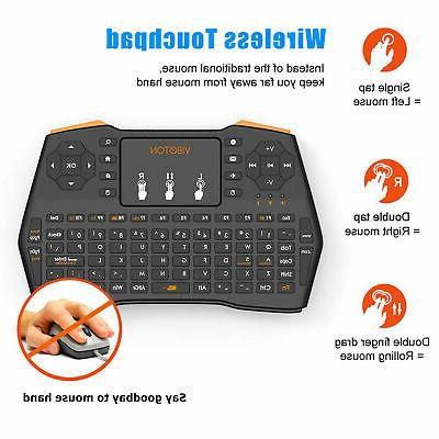 2.4G Mini Touchpad Android Smart TV Laptop