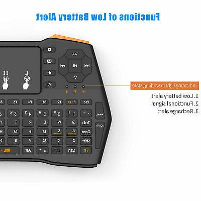 2.4G Wireless Keyboard Touchpad Android Smart Laptop