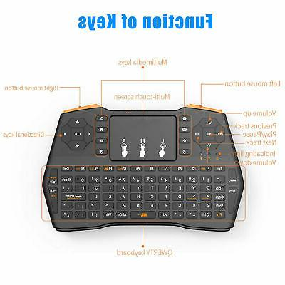 2.4G Touchpad Mouse Combo Android PC Smart Laptop