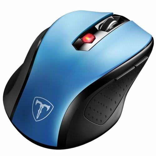VicTsing 2.4GHz Wireless Mouse Optical Mouse Mice for PC Lap