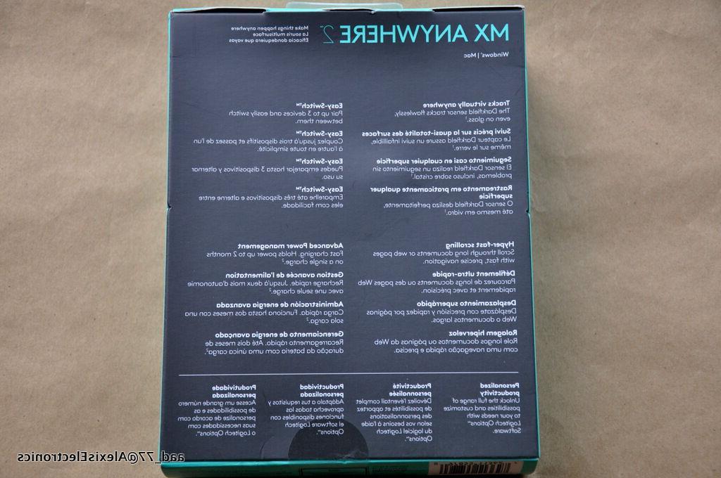 Logitech 2 Mouse - Wireless - Bluetooth - USB 2.0 dpi - Computer Tilt Wheel