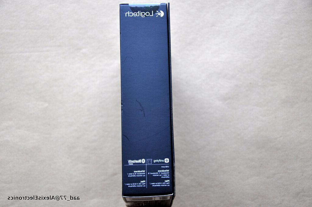 Logitech Mouse Darkfield Wireless USB 1600 dpi - Tilt Wheel -