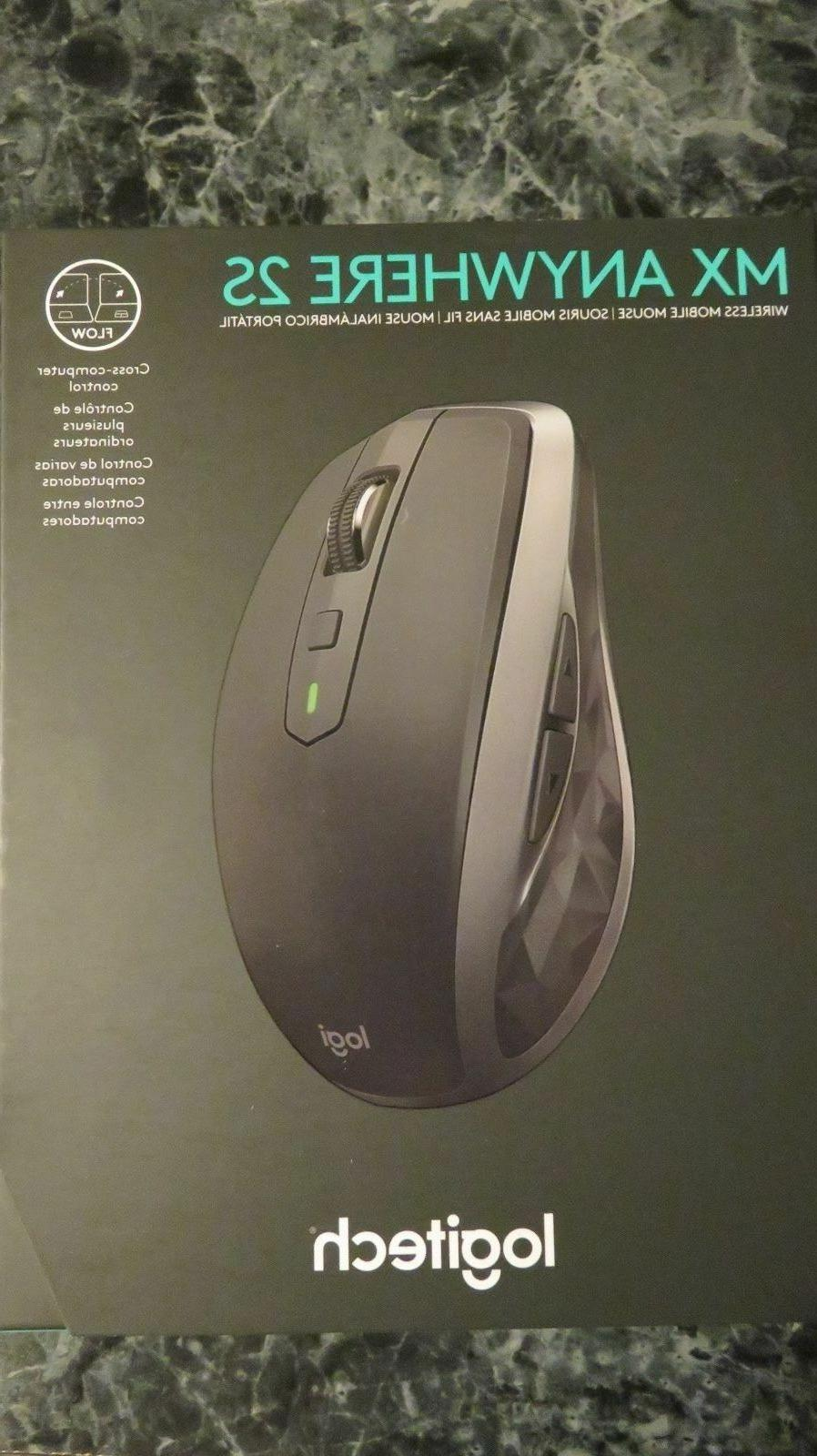 Logitech MX Anywhere Wireless with Cross-Computer and More