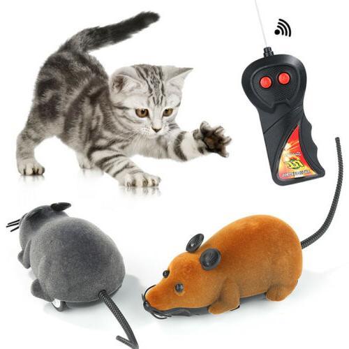 Wireless Remote Control Rat Mouse Moving Toy For Pet Cat Dog