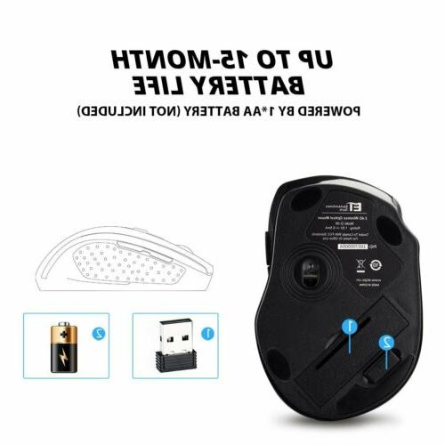 VicTsing Optical Mice US