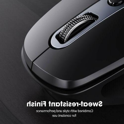VicTsing Pioneer Rechargeable Mouse Side Scroll for Laptop PC