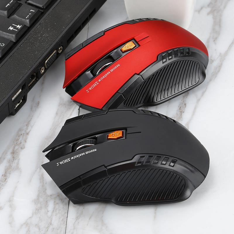 Professional 2.4GHz <font><b>Wireless</b></font> <font><b>Gaming</b></font> <font><b>Mouse</b></font> for PC Computer <font><b>Mouse</b></font> Gamer with USB Receiver
