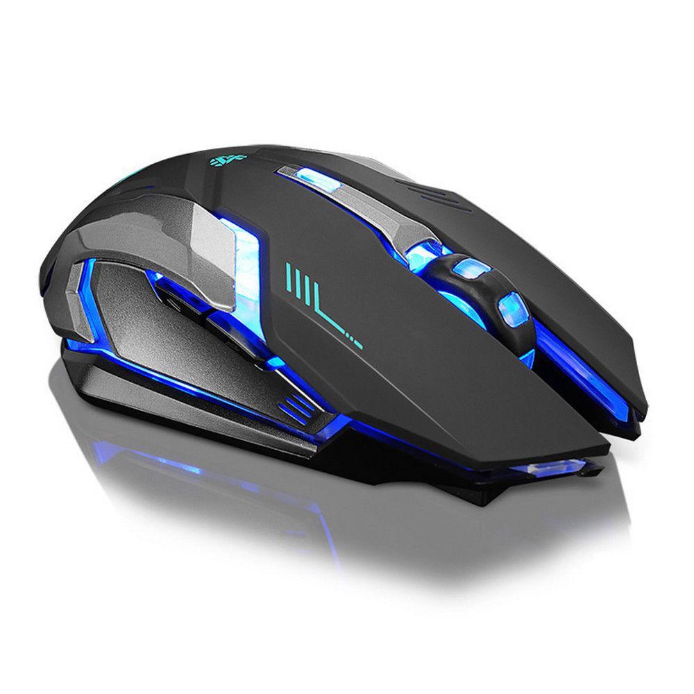 LED Ergonomic Gaming