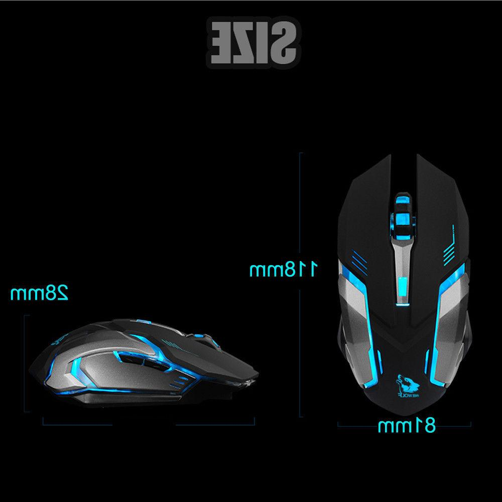 LED Backlit Ergonomic Gaming Mouse